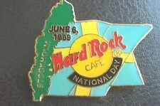 HRC Hard Rock Cafe Stockholm National Day 1999  Flag Map LE750
