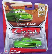 Disney Pixar Cars Retro Radiator Springs EDWIN KRANKS NIP! 2012