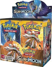 Pokemon Sun and Moon Booster New Sealed TCG Card Game - 1 BOOSTER PACK