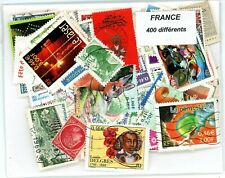 400 World wide different FRANCE stamps.