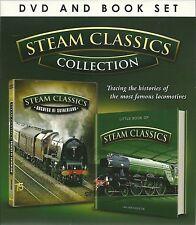 STEAM CLASSSICS COLLECTION BOOK & DVD SET - DUCHESS OF SUTHERLAND DVD - NEW