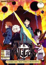World Trigger DVD Complete 1-12 - NEW Anime  US Seller Ship Fast