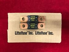 Set of 2: NEW OE Littelfuse Bolt In Mega Fuse 100A 100 Amp Slow Blow 32V 32 Volt