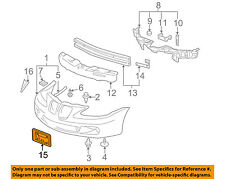 Pontiac GM OEM 05-08 Grand Prix-License Plate Bracket Mount Holder 10342931