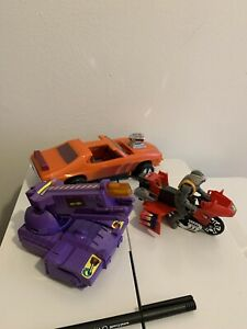 VINTAGE TOYS LOT VARIOUS AS IS AUTOMOBILES ETC