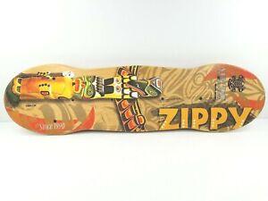 Vew Do Zippy Balance Board ONLY Training Wood Fitness Flow Trainer Tiki Graphics