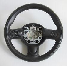 Genuine MINI Black Leather Multifunctioning 3 Spoke Steering Wheel for R56 #B
