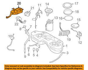 BMW OEM 04-10 X3-Vapor Canister Fuel Gas Emission 16136767907