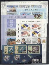 Assortment of British Souvenir Sheets ($175)