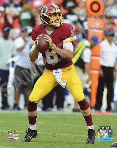 Kirk Cousins 2016 Action Washington Redskins 8x10 Photo