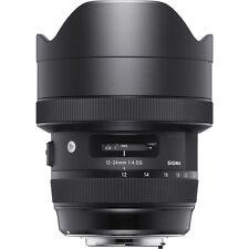 Sigma 12-24mm f/4 DG HSM Art Lens for Nikon **AUTHORIZED DEALER**