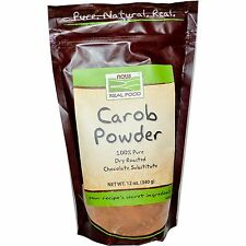 Now Foods Carob Powder No Additives - 12 oz (340g)