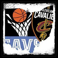 Plaza Magnet Cleveland Cavaliers Personalizado Vinilo Baloncesto de la NBA