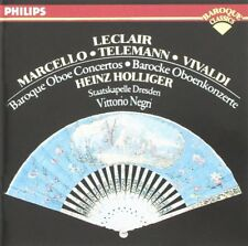 Leclair, Marcello, Vivaldi, Telemann: Concerti Per Oboe / Hollinger, Negri - CD