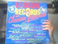 Disque vinyl de Le disque records des de la chanson francaise 36 chansons