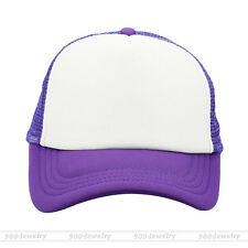 Unisex Men Women Ladies Sport Baseball Golf Mesh Cap Rapper Trucker Snapback Hat
