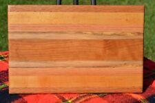 Cheese Board / Cutting Board #21 Cherry, Maple, Oak, & Spalted Rubberwood