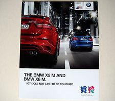 BMW . X5 M and X6 M . The BMW X5 M and X6 M . 2011 Sales Brochure