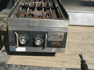 Star  Front-To-Back 2 Burner Countertop Gas Hot Plate LP Propane