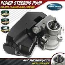 Power Steering Pump w/ Reservoir for Jeep Cherokee Comanche Grand Cherokee 4.0L