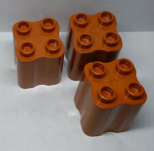Kiste Box Supermarkt Obst Lego Duplo dunkel-braun Obstkiste