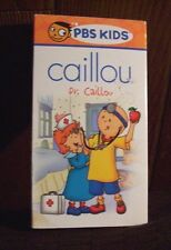 Caillou - Dr. Caillou (VHS, 2002) PBS Kids