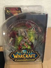 World of Warcraft WOW Series 5 BLOODY Scourge Ghoul Rottingham 7in Figure NIB!!