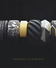 DAVID YURMAN Luxury Men's Bands Rings CATALOG Summer 2018 Collection