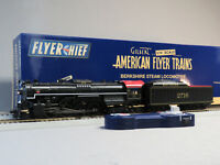 LIONEL AMERICAN FLYER SOUTHERN FLYERCHIEF PLUS ENGINE & TENDER S GAUGE 6-44026