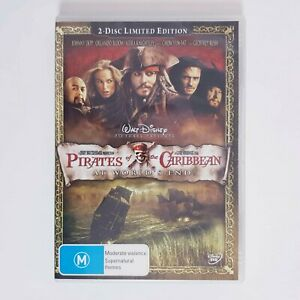 Pirates of the Caribbean At World End Movie DVD Region 4 AUS Free Postage