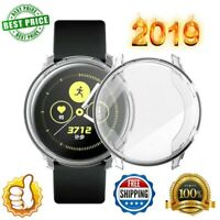 TPU Full Cover Case Screen Protector Guard For Samsung Galaxy Watch Active UK AN
