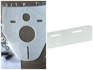 Schallschutz Set für Waschtisch, WC, Wand-WC/-Bidet