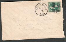 c 1870's cover Greensboro NC to Mearin Treller Sandy Hill Washington County NY
