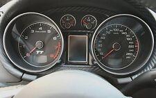 Audi TT MK2 Zierrahmen FIS Alu quattro s-line 8J TTs TTRS 3.2 3,2
