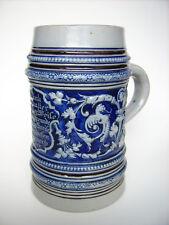 Keramik Krug 1 Ltr. Merkelbach&Wick um 1880 Steinzeug Westerwald Bierkrug stein