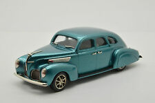 Rare !!! Lincoln Zephyr 4-Door 1938 Brooklin Rod 03 1/43