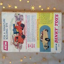 g1k ephemera vintage advert dinky toys cement mixer jaguar