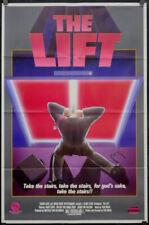 Die Lift 1983 Original 27X41 Video (Film) Poster Huub Staple