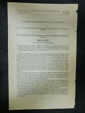Government Report 5/29/1888 Duluth & Winnipeg Railway Co Fond du Lac Indian Res