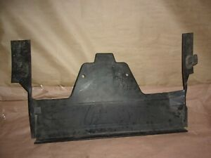 93-02 CAMARO RS Z28 SS RADIATOR AIR DAM DEFLECTOR / DUCT PANEL BEHIND FRONT NOSE
