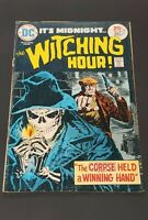 "1975 DC Comics, #54 May., It's Midnight ""The Witching Hour!"""
