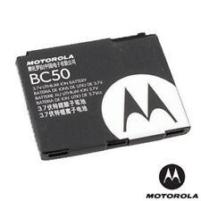 MOTOROLA BATTERIA ORIGINALE BC50 BULK PER L9 SLVR,K1,V1050,V3X,C261,Z3 RIZR