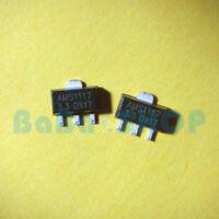 50/100/500/1000pcs AMS1117-3.3 LM1117 AMS1117 3.3V Voltage Regulator SOT-89