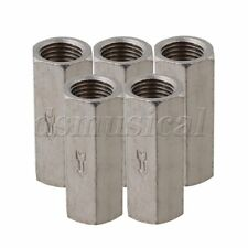 """5pcs Plating Solid Brass 1/4"""""""" BSPP Female Full Ports One Way Air Check Valve"""