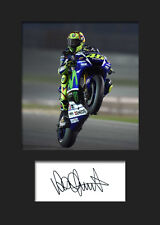 VALENTINO ROSSI #3 Signed Photo A5 Mounted Print - FREE DELIVERY