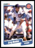 1990 Fleer Baseball Greg Maddux Chicago Cubs #37
