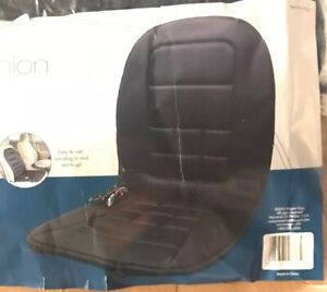 Wagan 12V Heated Seat Cushion Black IN9738-5