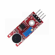 Microphone Sensor High Sensitivity 10mm Sound Detector Voice Module For Arduino