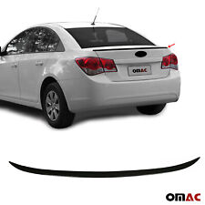 For Chevrolet Cruze Sedan 2011 2020 Rear Trunk Lip Wing Spoiler Black Style Fits Cruze