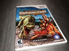 Battle of Giants: Dinosaurs Strike (Nintendo Wii, 2010) Brand New Sealed